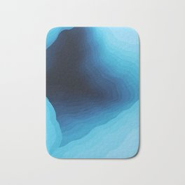 Cubed Glacier II Bath Mat