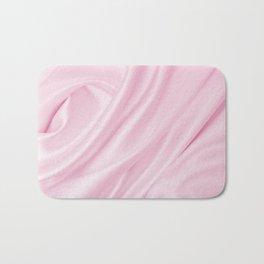Pink Silk Bath Mat
