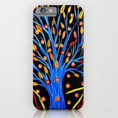Blue tree/abstract Slim Case iPhone 6s