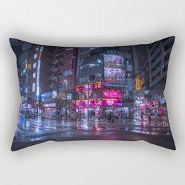 Shinjuku at night Rectangular Pillow