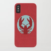lobster iPhone & iPod Cases featuring Lobster by Mr & Mrs Quirynen