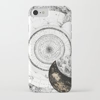 astrology iPhone & iPod Cases featuring astrology lapse by Carolina Arévalo