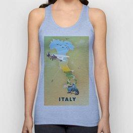 Italy Unisex Tank Top