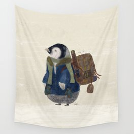 the little explorer Wall Tapestry