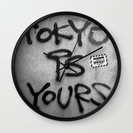 TOKYO IS YOURS Wall Clock