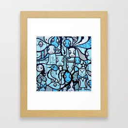 Survival Framed Art Print