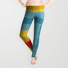 Grid in Roller Rink Leggings