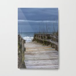 The Old Walkway Metal Print