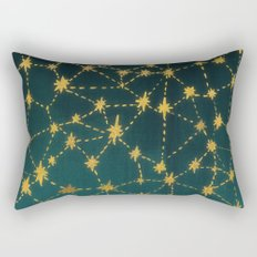 Stars Map Rectangular Pillow
