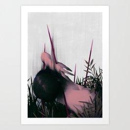 Between Rivers, Rilken No.4 Art Print