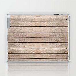 Weathered boards texture abstract Laptop & iPad Skin