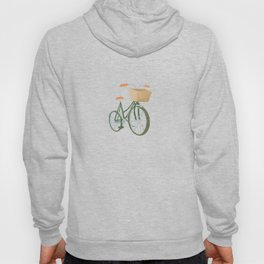 Bike with Basket Hoody