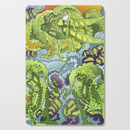 Other Worlds: The Gathering Cutting Board