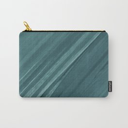 Acrylic brush strokes background - grayish green Carry-All Pouch