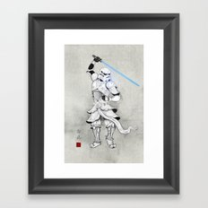 Samurai Trooper Framed Art Print