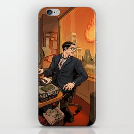 Clark iPhone Skin