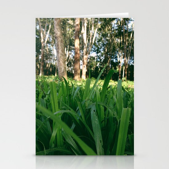 Bed of Grass Stationery Cards