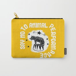 Say NO to Animal Performance Tiger 2 Carry-All Pouch
