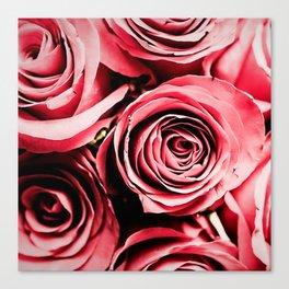 Moonlight & Roses Canvas Print