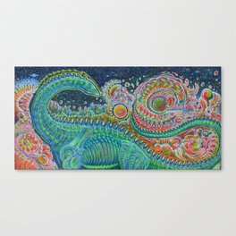 The Land After Time: Littlefoot Considers Singularities Canvas Print