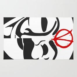 V for Fsociety Rug