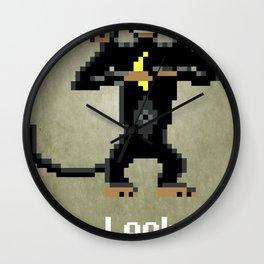 Three-Headed Monkey V2 Wall Clock