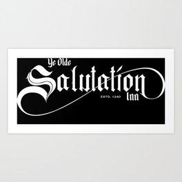 Ye Olde Salutation Inn Art Print