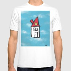 Keep Dreaming Mens Fitted Tee White MEDIUM