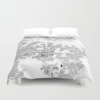 sydney Duvet Covers featuring SYDNEY by Maps Factory