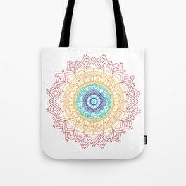 Mandala Waves Tote Bag