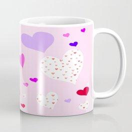 Flying Hearts Coffee Mug