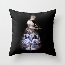 Madame de Villeneuve Throw Pillow