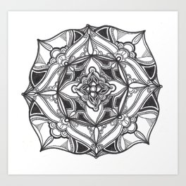 Radial 12 Art Print