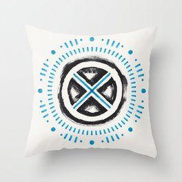 x marks the gay Throw Pillow