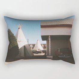 The Wigwam Motel Rectangular Pillow