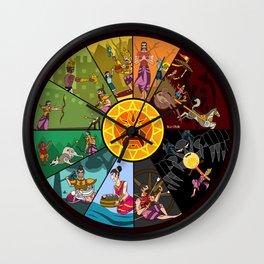 Karna Wall Clock