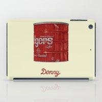 lebowski iPad Cases featuring The Lebowski Series: Donny by Bubblegun