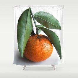 Orange Fruit Photography Shower Curtain