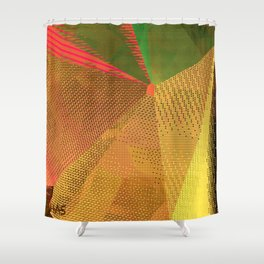 Textures One Version Two Shower Curtain