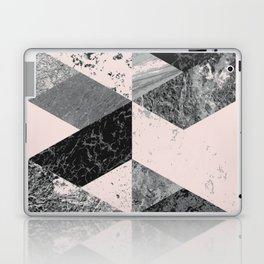 Geometric modern abstract wall art print Laptop & iPad Skin