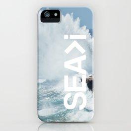 SEA>i | HEAVEN'S POINT iPhone Case