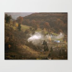 Difussion Canvas Print