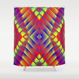 Garish  Pattern 7 Shower Curtain