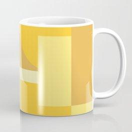 Retro 70s Golden Sunset Coffee Mug