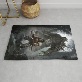the quest continues Rug