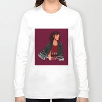 archer Long Sleeve T-shirts featuring Archer by shirley