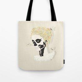 Skull Arlequin Tote Bag