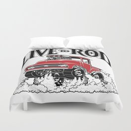 1956 FORD PICK-UP Workin' Hot Rod series Duvet Cover