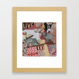 Teeter Totter Framed Art Print