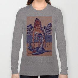 Spinosaurus the Hunter Long Sleeve T-shirt